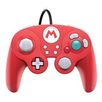 Nc Games Pdp-a-06433 Controle Nintendo Switch Com Fio Fight Pad Mario Pdp Switch/pc – Nintendo_switch