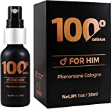 Cologne For Men [Attract Women]-Aphrodisiac Perfume To Boost Your Pheromones Presence - Bold, Extra Strength Human Pheromones Formula by 100 Celsius -(Human Grade Pheromones to Attract Women)