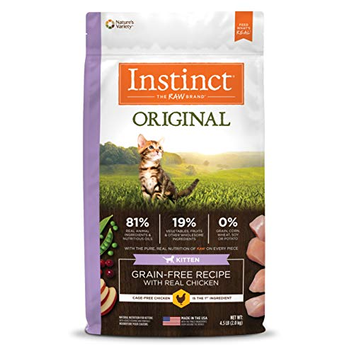 Instinct Original Grain-Free Recipe Natural Dry Cat Food review