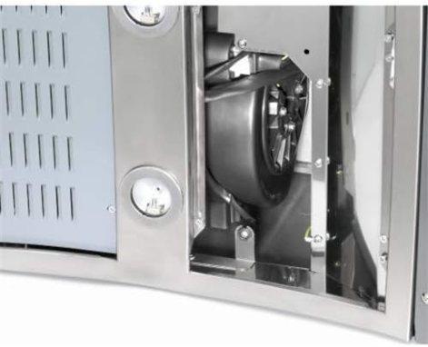 Teka Set 1/M Cooker Hood Filter-Accessory for Fireplace (Cooker Hood Filter, Black, DEP 60DBB 90/60du 985DVT 680/980)
