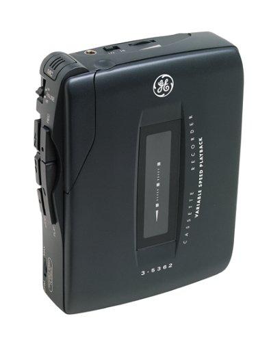 GE 35362 Mini Cassette Recorder