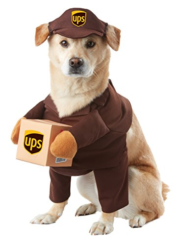 California Costumes Collections PET20151 UPS Pal Dog Costume
