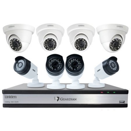 Uniden Guardian DVR Wired Video Surveillance System