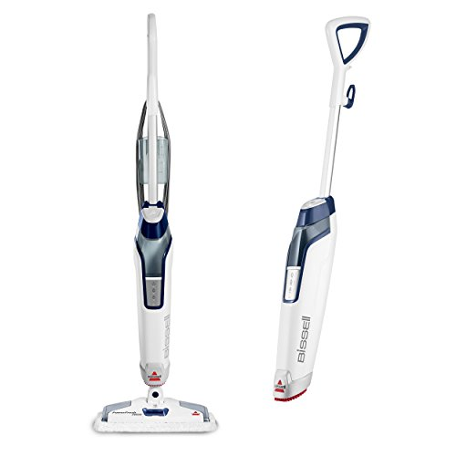 Bissell Powerfresh Deluxe Steam Mop, Steamer, Tile, Hard Wood Floor Cleaner, 1806, Sapphire