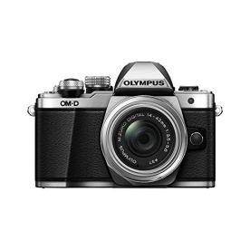 Olympus-OM-D-E-M10-Mark-II-Mirrorless-Camera-with-14-42mm-II-R-Lens-Silver