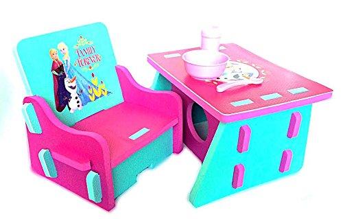 Disney Frozen Foam Table and Chair Set