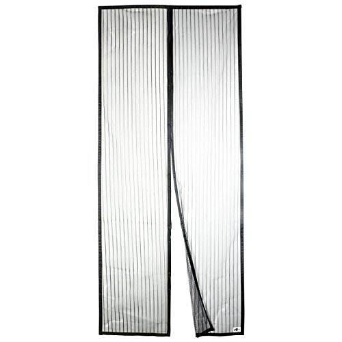 APALUS Magnetic Screen Door, 36'x83' Super Strong Fly Mesh, 28 Magnets From Top to Bottom Ultra Seal Magnets Close Automatically