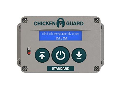 ChickenGuard-Standard-Automatic-Chicken-Coop-Pop-Door-Opener-Door-Kit-Combo-OutdoorIndoor-Auto-Door-Opener-Chicken-Coop-Accessories