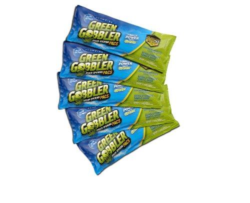 Green Gobbler Drain Opening PAC'S - 5 pack
