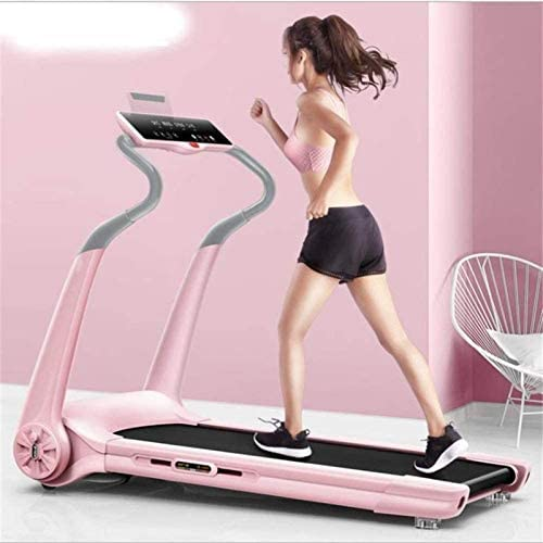 YFFSS Running Machines Laptop Desk Portable Electric Treadmill Space Saver Fitness Running Machine for Home,Cardio Fitness Running Exercise Folds Away Home Office Fitness Equipment 3