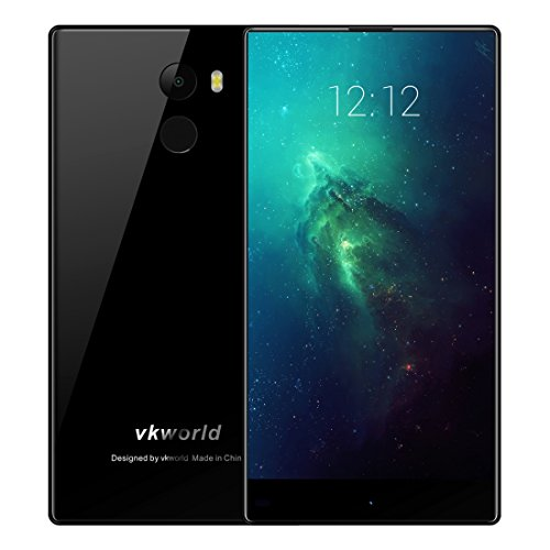 VKworld Mix Plus 3GB+32GB 5.5 inch 2.5D Full Edgeless Android 7.0 MTK6737 Quad Core up to 1.3GHz WCDMA & GSM & FDD-LTE (Black)