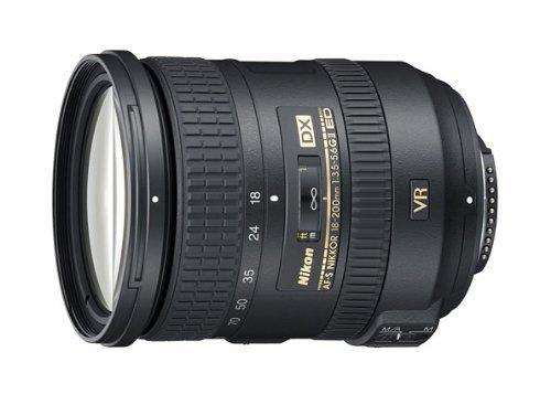 Nikon 18-200mm f/3.5-5.6G AF-S ED VR II Nikkor Telephoto Zoom Lens for Nikon DX-Format Digital SLR Cameras