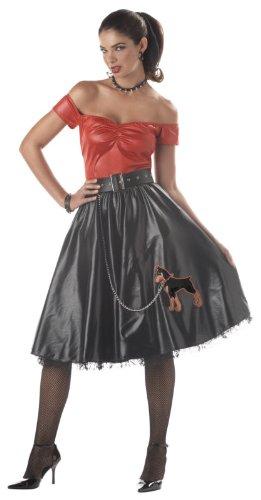 Women Medium 8-10 - Tuff Cookie Retro Costume