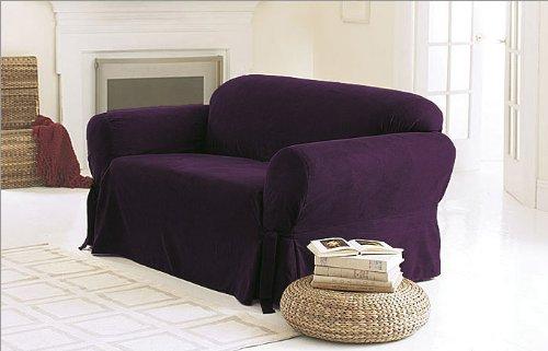plums sofa covers. Black Bedroom Furniture Sets. Home Design Ideas