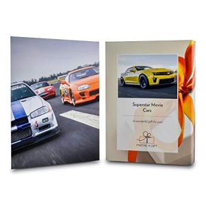 Activity Superstore Driving Experience Days Gift Experience Voucher for Movie Cars – The choice for every petrol head!