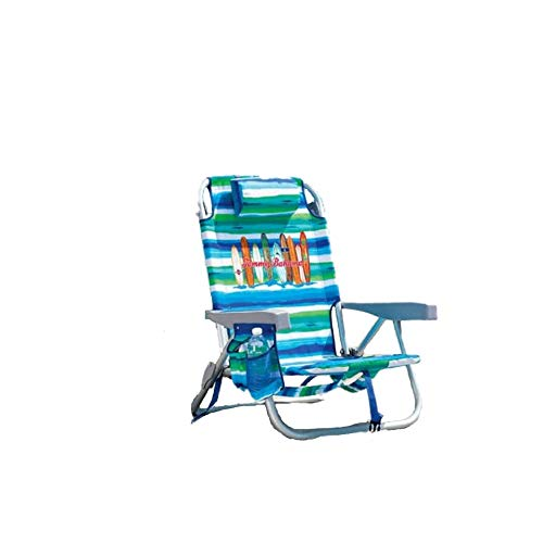 Tommy Bahama Backpack Beach Chair Multi Color Stripe Surf Board Logo