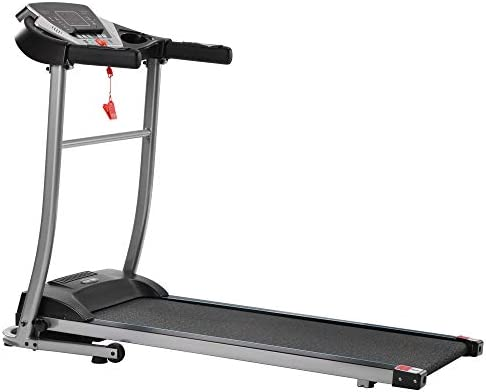Merax Folding Electric Treadmill Motorized Running Machine Easy Assembly Electric Treadmills for Home, Motorized Fitness Compact Running Equipment with LCD for Home 8