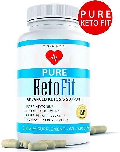 (Advanced Formula) Pure Keto Fit Pro Pills, Premium Keto Diet Pills Supplement for Energy, Focus - Exogenous Ketones for Rapid Ketosis - Ketogenic BHB for Men Women 6