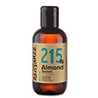 Naissance 100% Pure Sweet Almond Oil 3.4 fl oz/ 100ml. - Vegan, No GMO - Great for Hair care, Skincare, Aromatherapy & As A Base Oil For DIY (Make Your Own) Massage Oil Blends