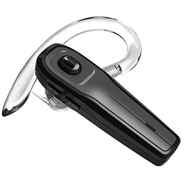 Wismat V4.1 Bluetooth Headset, Wireless Earbud Headset with Microphone, 8-Hrs Playing Time Cell Phone Bluetooth Earpiece, Car Bluetooth Headphones for iPhone Samsung Android