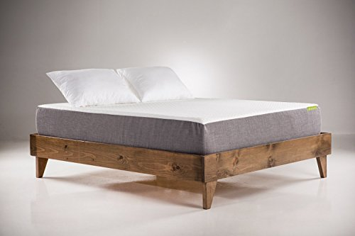 Wood Platform Bed Frame | Queen Size | Modern Wooden Design | Solid ...