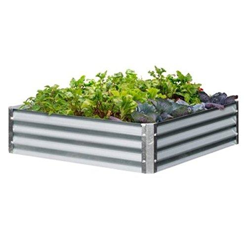 Galvanized Steel Raised Garden Beds - 48' x 48' x8'