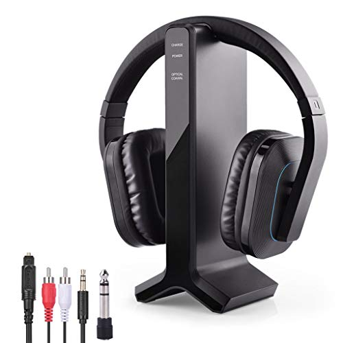 Avantree-HT280-Wireless-Headphones-for-TV-Watching-with-24G-RF-Transmitter-Charging-Dock-Digital-Optical-System-High-Volume-Headset-Ideal-for-Seniors-Hearing-Impaired-100ft-Range-No-Audio-Delay