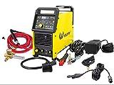 Weldpro Digital TIG200GD ACDC 200 Amp Tig/Stick Welder with Pulse CK 17 Worldwide Superflex Torch/with Trigger Switch Dual Voltage 220V/110V Welding Machine