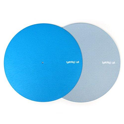 Turntable Lab: Switchmat Reversible Slipmat - Blue / Grey (Single)