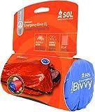 S.O.L Survive Outdoors Longer 90 Percent Heat Reflective Durable Lightweight 2-Person Emergency Bivvy, Orange