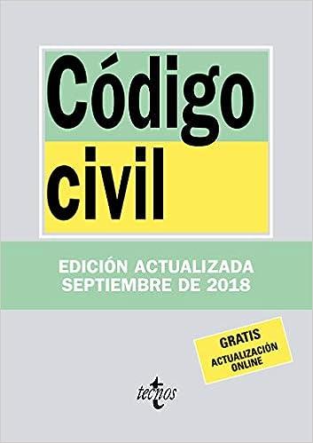 Descargar Libro Código Civil (Derecho - Biblioteca De Textos Legales) PDF Gratis