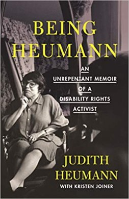 Cover of Being Heumann: An unrepentant memoir of a disability rights activist
