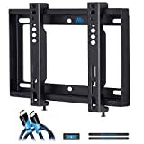 Mounting Dream Ultra Slim TV Wall Mount Bracket for Most 17-42 Inch LED, LCD Flat Screen TV, Mount with VESA from 75X75 to 200x200mm, Loading Capacity 66 lbs MD2351