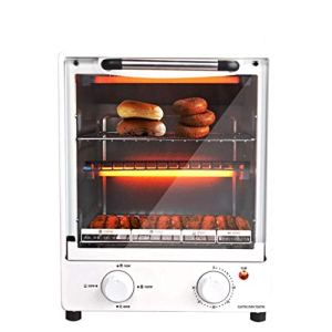 ZXUE Electric Oven Home Baking Multi-function Automatic Temperature Control Mini Cake Baking Oven Kitchen Supplies 41ATFMaAC7L