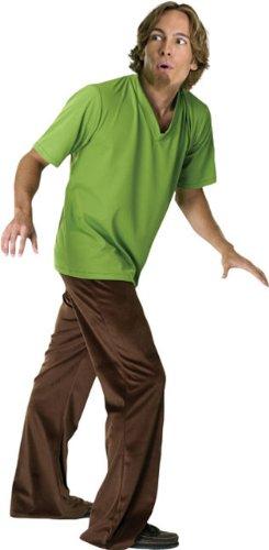 scooby doo costumes shaggy - Scooby Doo Adult Shaggy Costume