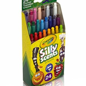 Crayola 24 Ct Silly Scents Mini Twistables Scented Crayons 24ct