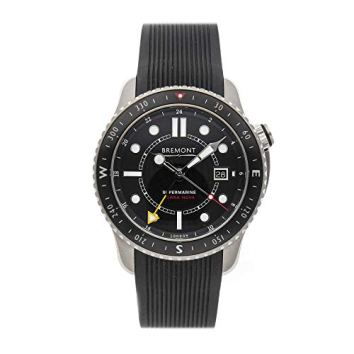 Bremont Supermarine Mechanical (Automatic) Black Dial Mens Watch Terra Nova (Certified Pre-Owned)
