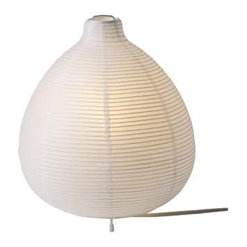 Ikea Vate Lampe De Table Blanc 26 Cm Amazonfr