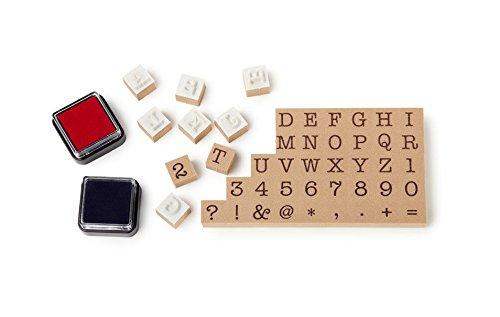 NPW (W7084) NPW-USA Typewriter Stamp & Ink Printing Set