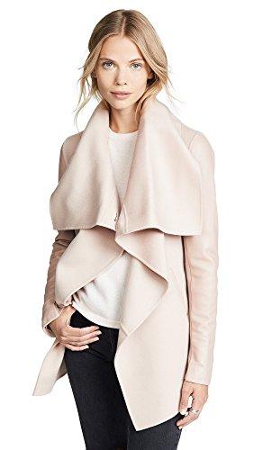 71XmYFeVJkL Double-face wool 70% wool/20% nylon/10% cashmere 100% lambskin