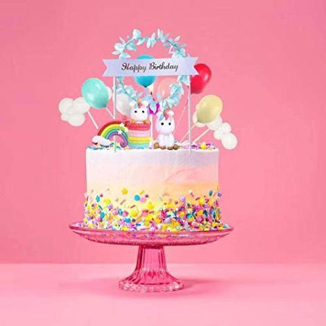 Cake Top Unicorno Set 12 pezzi