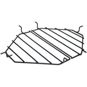 Primo-PRM325-Ceramic-Heat-Deflector-Plates-with-PRM313-Roaster-Drip-Pan-Racks-for-Oval-JR-200