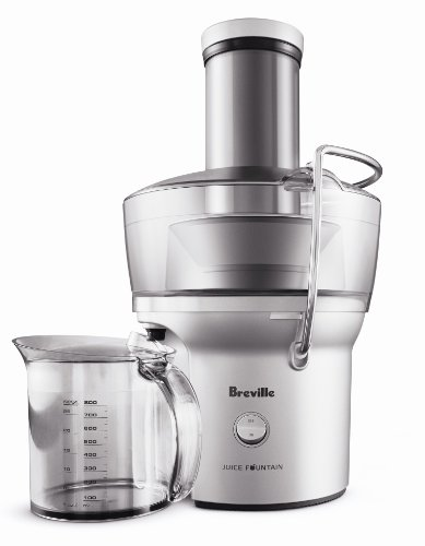 Breville BJE200XL Compact Juice Fountain 700-Watt Juice...