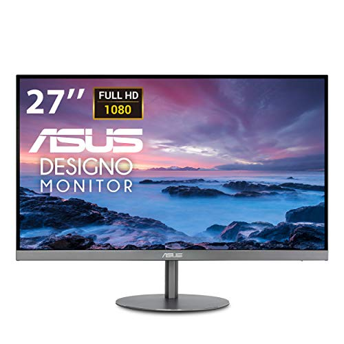 "ASUS Designo MZ279HL 27"" 1080P IPS Eye Care Height Adjustable Monitor with HDMI, Stereo 3W Speakers"
