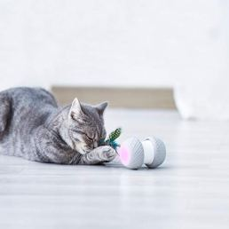 Automatic-Cat-Toys-Smart-Interactive-Cat-Feather-Toys-Upgraded-USB-Charging-360-Degree-Self-Rotating-Automatic-LED-Light-Ball-Toy-for-Pet-Entertainment-Hunting-Exercise-Battery-Included