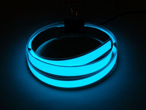 Adafruit Aqua Electroluminescent (EL) Tape Strip - 100cm w/two connectors [ADA415]