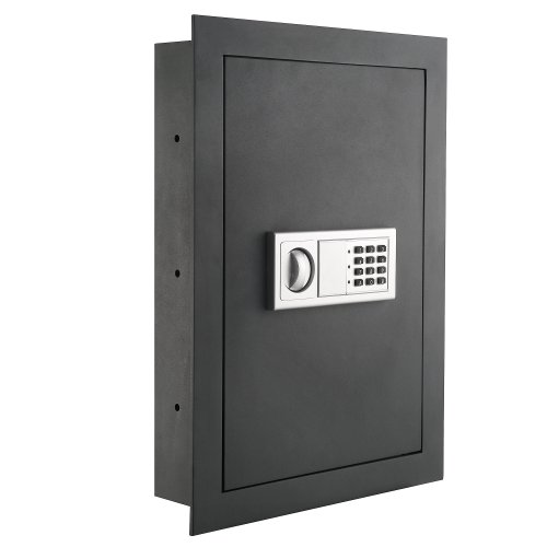 7725 Flat Electronic Wall Safe For Jewelry...
