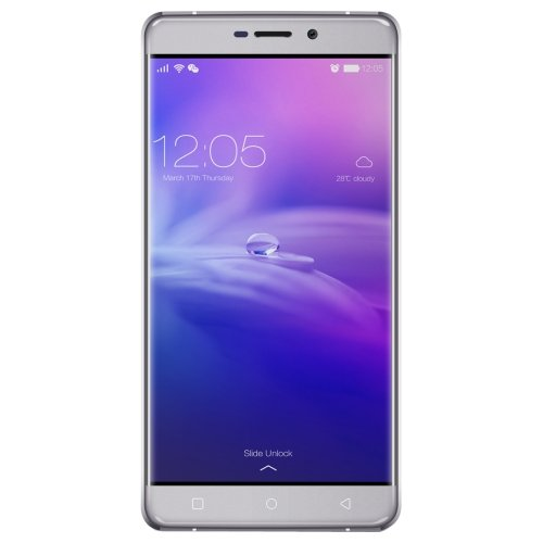Blackview R7 32GB 5.5 Inch Android 6.0 Smartphone, MTK6755 Octa-core 2.0GHz, 4GB RAM GSM & WCDMA & FDD-LTE (Grey)