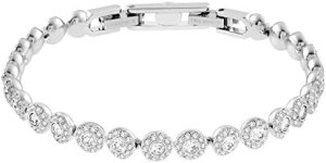 SWAROVSKI Women's Angelic Tennis Bracelet Crystal Jewelry Collection