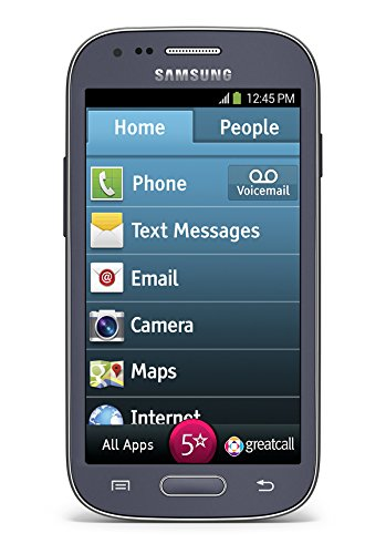Jitterbug Touch3 Senior Smartphone with 1-Touch Medical Alert by GreatCall